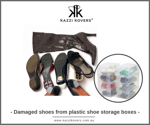 how to store shoes to prevent mold