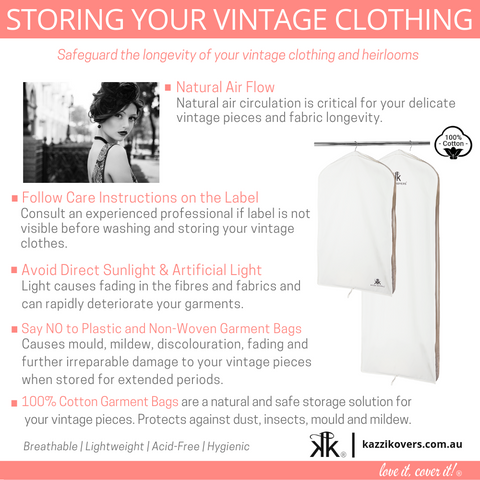 Storing Your Vintage Clothing