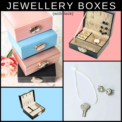 Travel Jewellery Box (with lock)