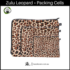 Zulu Leopard | 100% Cotton Packing Cells