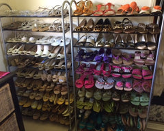 Organised-Shoe-rack-with-coloured-shoes