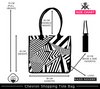 Chevron Shopping Bag | Size Chart