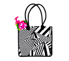 Reusable tote bags | Black and white