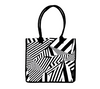 Sassy Chevron Shopping Bag | 100% Cotton