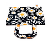 Fresh floral daisy print bag for all purposes