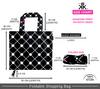 Diamond Print | Foldable Shopping Bag Size Chart
