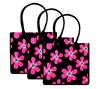 3 Pack Fresh Floral Shopping Bags | 100% Cotton