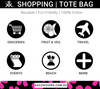 Shopping Tote Bag Uses | Fresh Floral Print