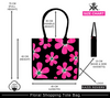 Fresh Floral Size Chart | Cotton Shopping Bag