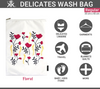 Floral Delicates Wash Bag Uses | Regular Size