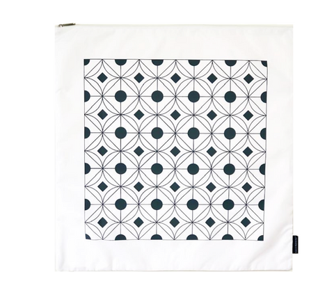 Large Delicates Wash Bag | Geometric Grey