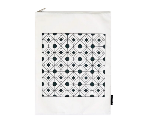Regular Delicates Wash Bag | Geometric Print