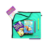 Kids book and library bag. Lightweight and hygienic. 100% Cotton