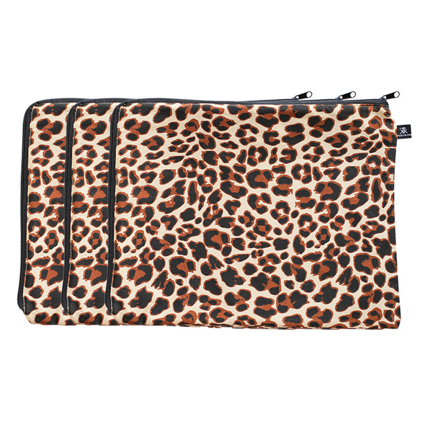 3 Pack Zulu Leopard Print. 100% Cotton.