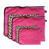 fuchsia-pink-leopard-print-cotton-bags-packing-cells