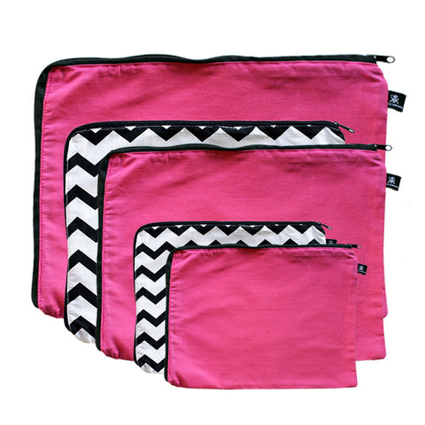 Getting Ziggy Chevron Fuchsia Fever 5 Pack Combo