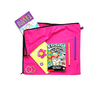 Library and book bag for kids