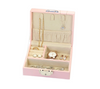 Jewellery travel case for rings, earrings, necklaces, bracelets and more