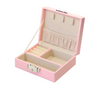 Jewellery box with lock | Pink