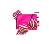 Pink lingerie storage bag
