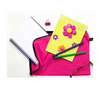 Note pad and stationery | bright pink bag