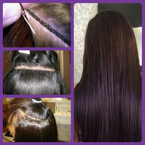 Install methods pink sugar hair extensions edmonton tape hair extensions are adhesive weft extensions that are the quickest installed it lies seamless in the hair this hair can be re applied multiple times pmusecretfo Choice Image