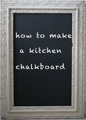 Build your very own DIYVA Framed Chalkboard