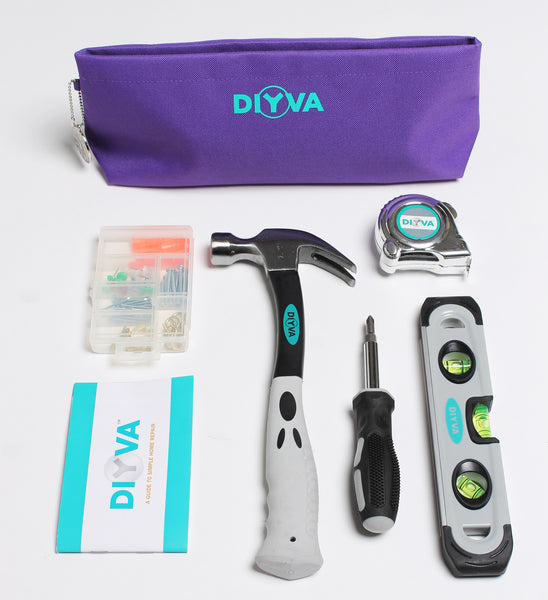 DIYVA by Barbara K Hang-It-Up Tool Clutch