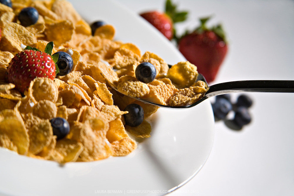 Which breakfast cereal contains the least amount of sugar?