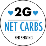 2 Grams Net of Carbohydrates