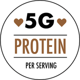 5 grams of proteins per service