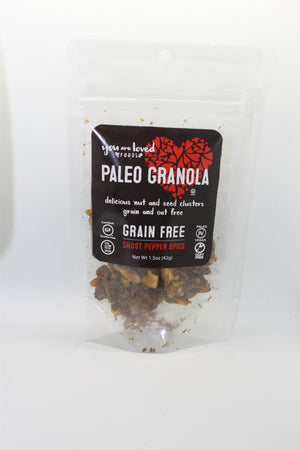 "Paleo Granola 6 x ""Grab & Go"" Mix - You Are Loved Foods"