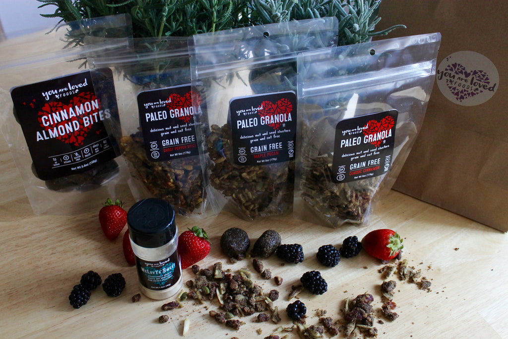 Paleo Granola & More (Monthly Subscription) - You Are Loved Foods