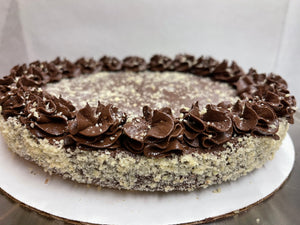 KETO Truffle Holiday Tart, VEGAN