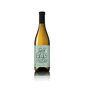 Dad Jokes - Father's Day Wine