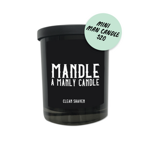 Mandle - Mini Manly Candle