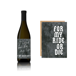 Load image into Gallery viewer, Ride or Die proposal - Brut Cuvee