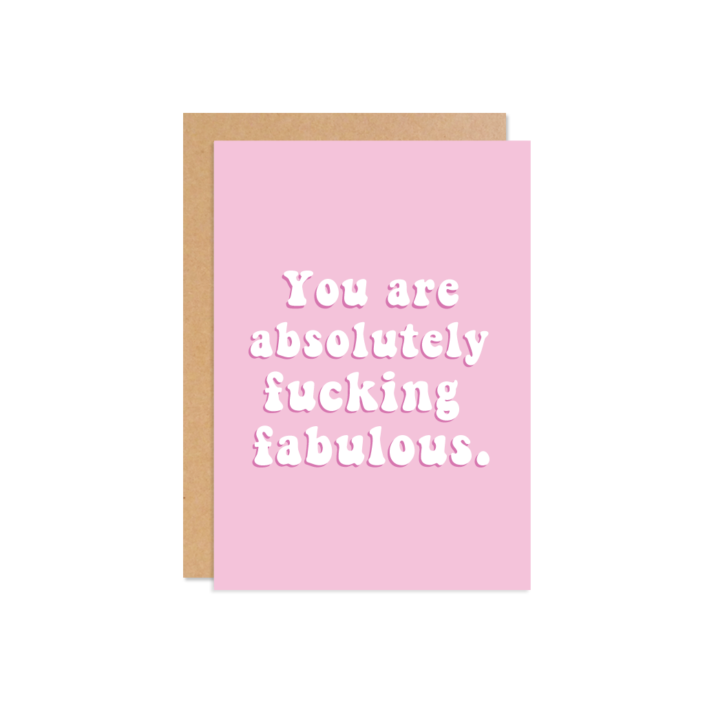 YOU ARE AB FAB