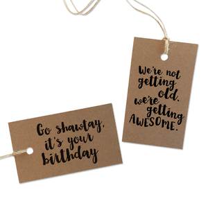Birthday - Gift Tags