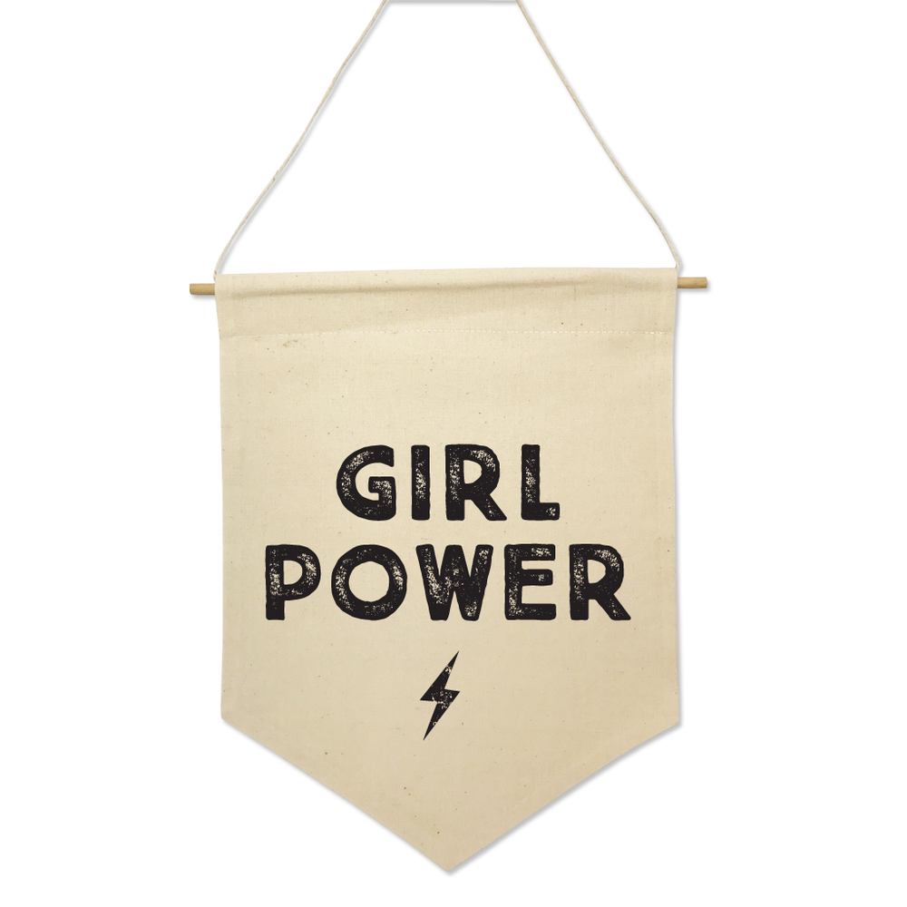 Girl Power - Flag Banner