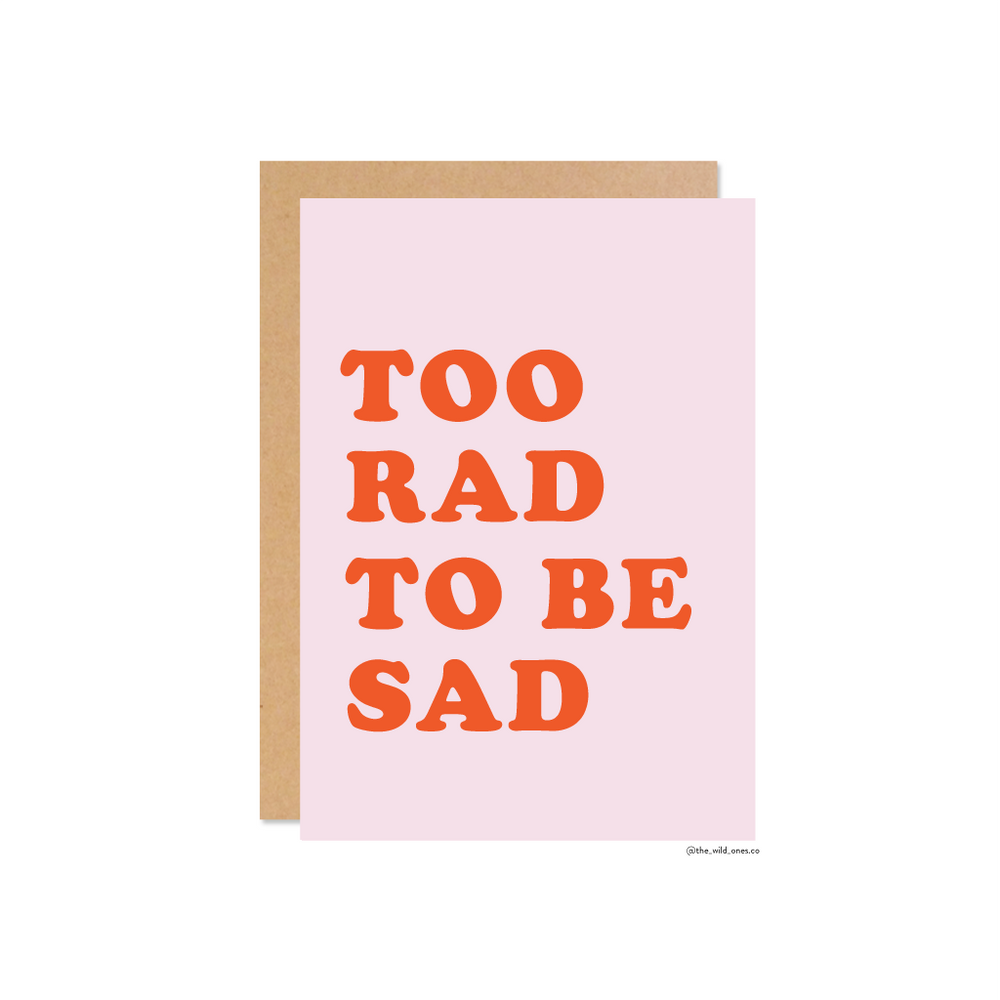 Too Rad - Colour