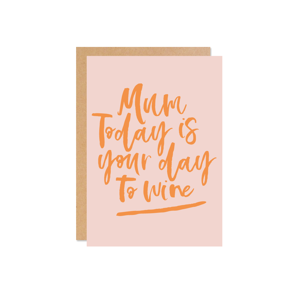 Your day to wine (blush)