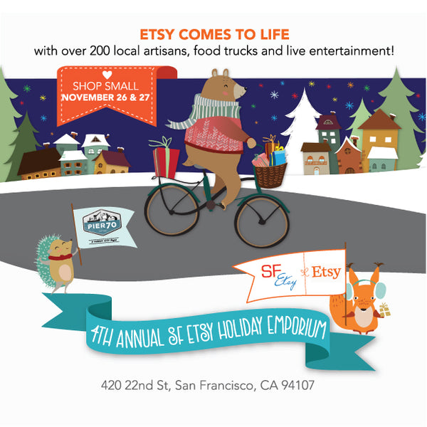 2016 SF Etsy Indie Holiday Event