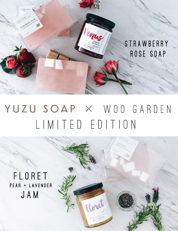 Yuzu Soap and WOO GARDEN's collaboration