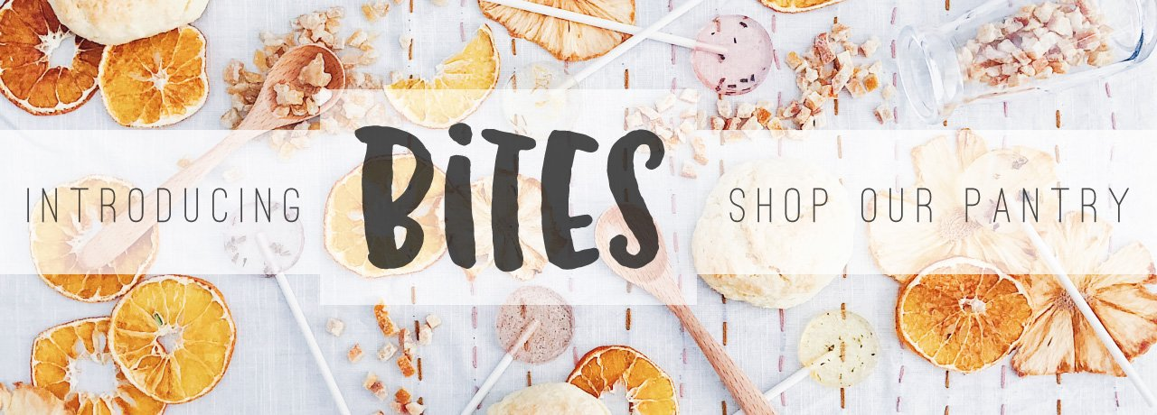 Introducing BITES, our new snack pantry, featuring exceptional snacks!