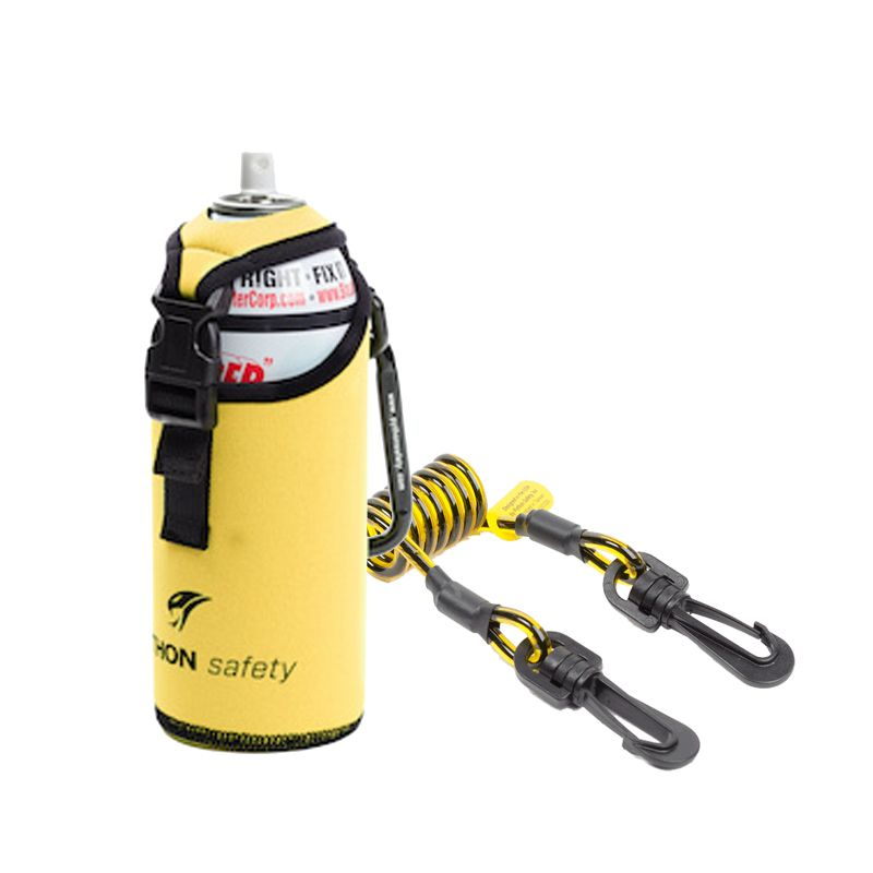 Python Safety - Fall Protection For Tools - Spray Can/Bottle Holsters