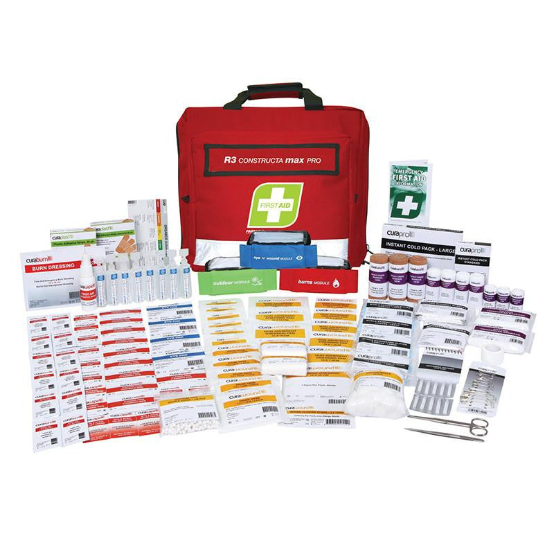 Fastaid R3 CONSTRUCTA MAX PRO First Aid  Kit