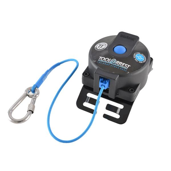 Toolarrest Retract 360 Tool Lanyard with Screwgate Karabiner