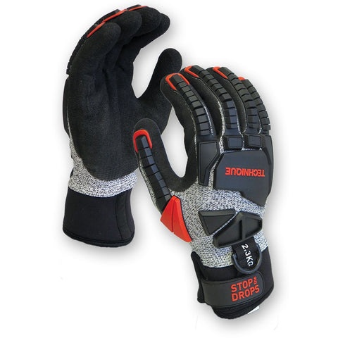 TECHNIQUE Glove Cut 5  Water Resistant (with Tether Point)