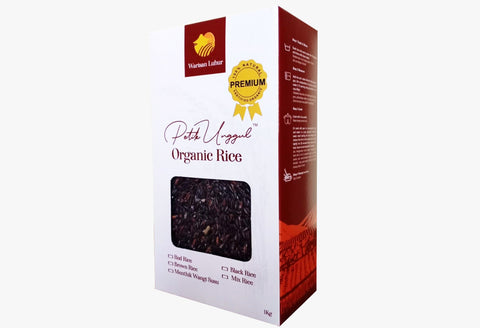 Warisan Luhur Black rice